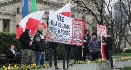 Manifestacja Polacy przeciw imigrantom [FOTO]