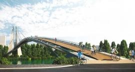 Nowy projekt radnych Pragi Północ na kładkę pieszo-rowerową nad Wisłą