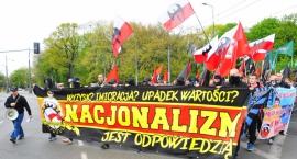 Pierwszomajowy pochód nacjonalistów [zdjęcia]