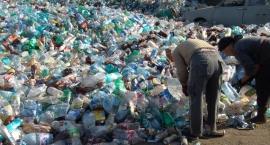 Protest branży śmieciowej w Warszawie