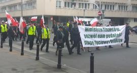 Protest celników przeciwko Krajowej Administracji Skarbowej