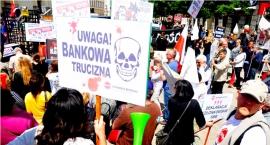 Mamy dość - Protest frankowiczów w Warszawie [ZDJĘCIA]