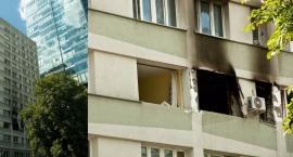 Zmarł mężczyzna ranny w wybuchu w centrum przy ul. Śliskiej