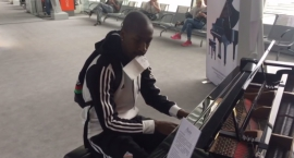 Pomocnik Legii Steeven Langil koncertowo zagrał na lotnisku Chopina