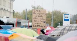 Protest ZNP: nauczyciele przeciwni likwidacji gimnazjów