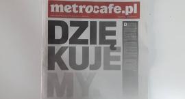 Gazeta Metrocafe żegna się z czytelnikami