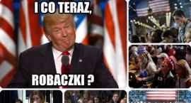 Donald Trump 45. prezydentem USA [memy]