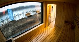 Ogrzej się w saunie nad Wisłą