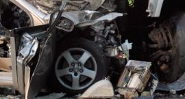 Wypadek na ul. Olbrachta. Jedna osoba trafiła do szpitala