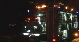 Strażacy gasili pożar w tym samym mieszkaniu na Pradze Północ co dzień wcześniej