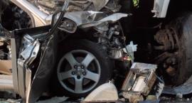 Na trasie S2 zderzyły się trzy samochody. Są utrudnienia w ruchu