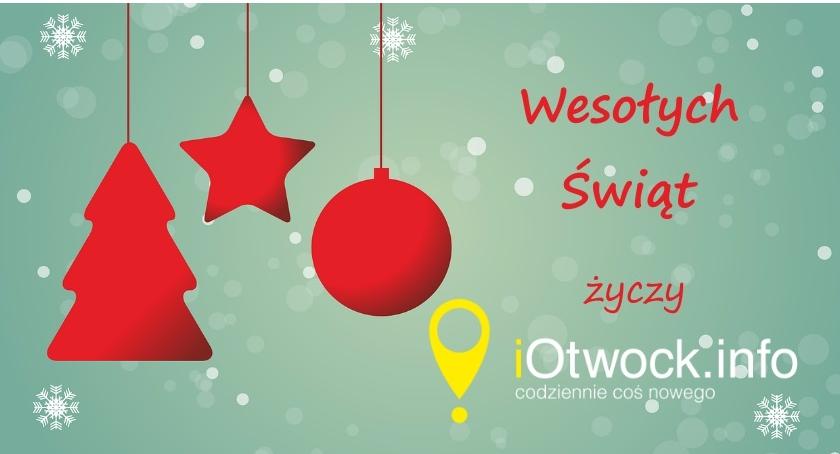 Życzenia, Życzenia Świąteczne redakcji iOtwock - zdjęcie, fotografia
