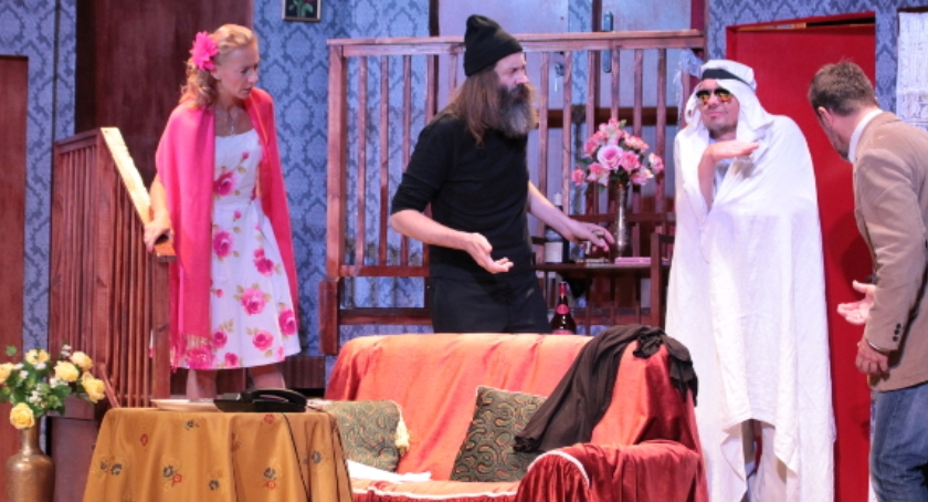 Teatr - spektakle, Czego widać - zdjęcie, fotografia