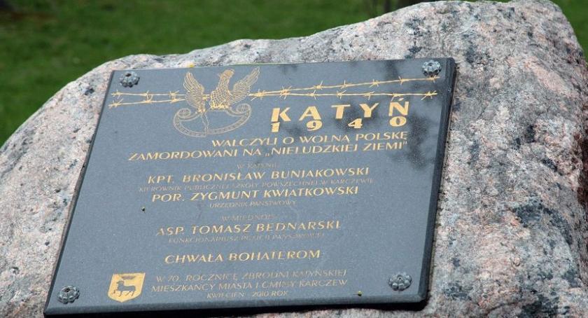 Historia, Pamięć ofiarach Karczewie - zdjęcie, fotografia