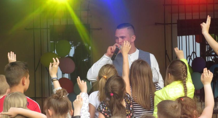 Imprezy, Piknik szkolno rodzinny Łukówcu - zdjęcie, fotografia