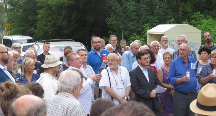 Historia, Otwock uczcił pamięć zamordowanych Żydów - zdjęcie, fotografia