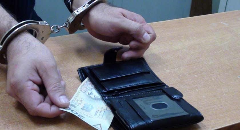 Kronika kryminalna, Nieudane przekupstwo policjantów Wiązowny - zdjęcie, fotografia