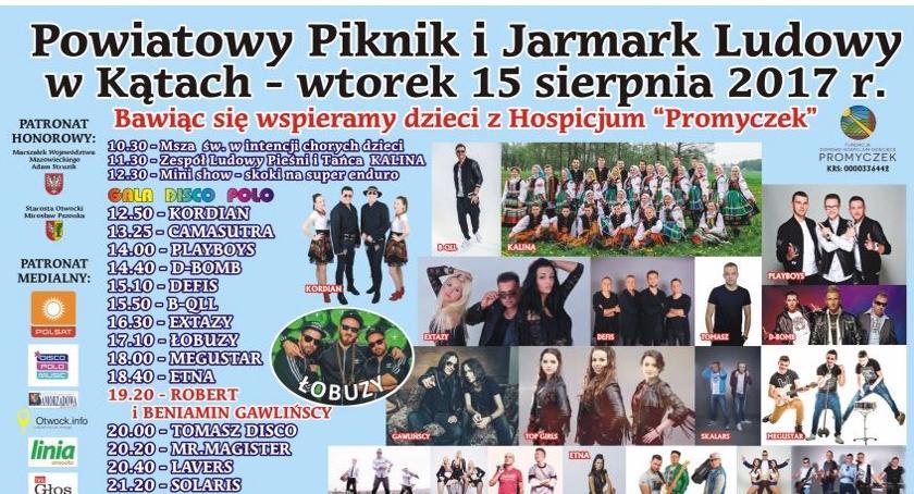 Imprezy, Powiatowy Piknik Jarmark Ludowy Kątach - zdjęcie, fotografia