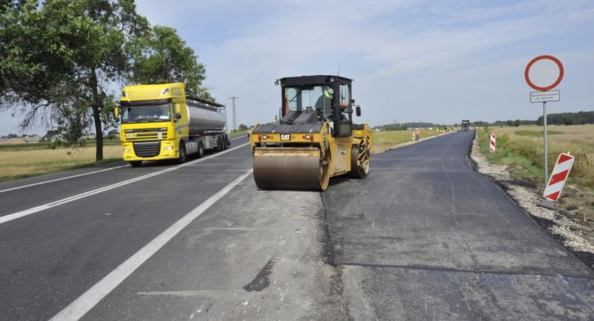 Inwestycje, Zaczyna budowa odcinku Kołbiel Garwolin - zdjęcie, fotografia