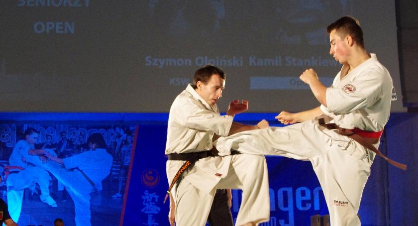 Sporty walki, Karatecy Bushi przywieźli medale Warszawy Opola - zdjęcie, fotografia