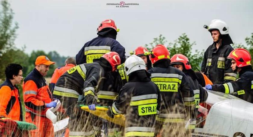 Interwencje Straży Pożarnej , Małe wypadki duże akcje ratownicze - zdjęcie, fotografia