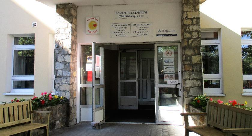 Komunikat, Remont szpitalu powiatowym Batorego - zdjęcie, fotografia