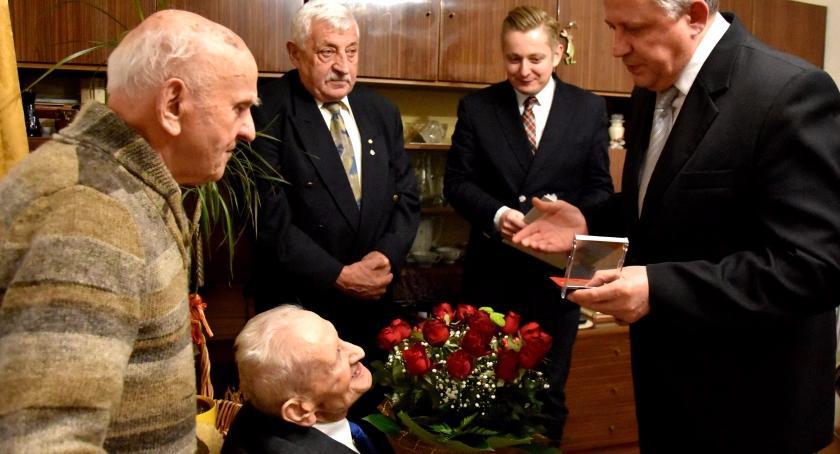 Życzenia, Bolesław Burkowski ukończył lata! - zdjęcie, fotografia