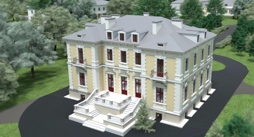 Inwestycje, Pałac Zamoyskich Kołbieli odzyska blask - zdjęcie, fotografia