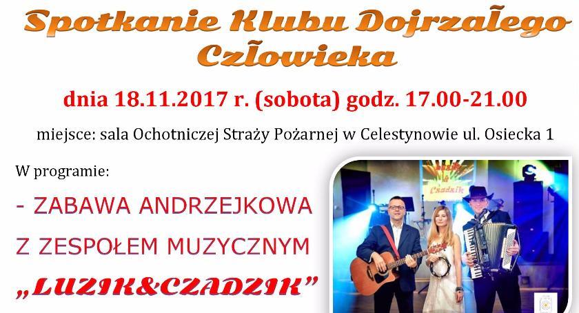 Imprezy, Andrzejkowe spotkanie Klubu Dojrzałego Człowieka - zdjęcie, fotografia