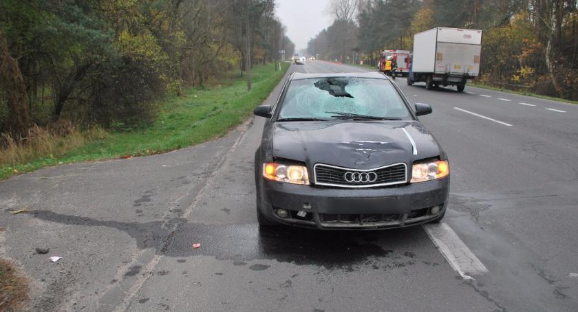 Wypadki drogowe , Tragiczna seria drogach powiatu otwockiego - zdjęcie, fotografia