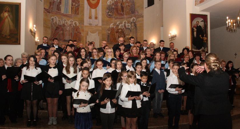 Koncerty - muzyka, Przegląd Chórów Powiatu Otwockiego - zdjęcie, fotografia