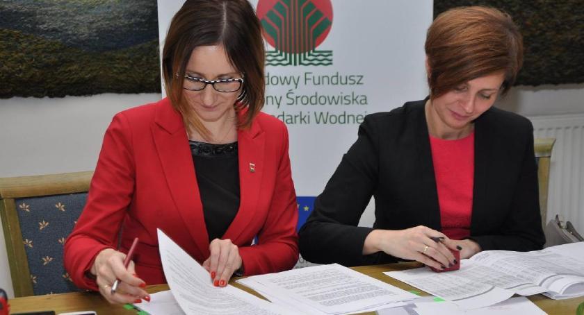 Inwestycje, Gmina Osieck rozbudowuje oczyszczalnię ścieków - zdjęcie, fotografia