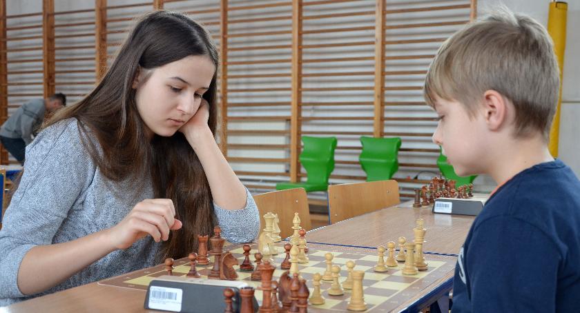 Szachy, Otwarte Mistrzostwa Szachach Szybkich - zdjęcie, fotografia