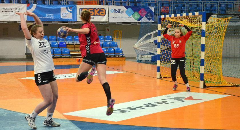 Piłka ręczna, Kolejna wygrana Lublinie - zdjęcie, fotografia