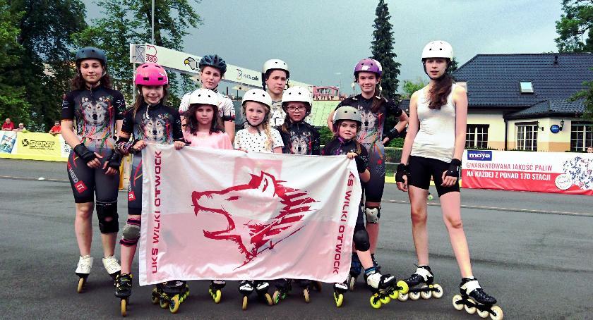 Rolki, Debiutanci Wilki Otwock medalami Torowych Mistrzostwach Polski - zdjęcie, fotografia
