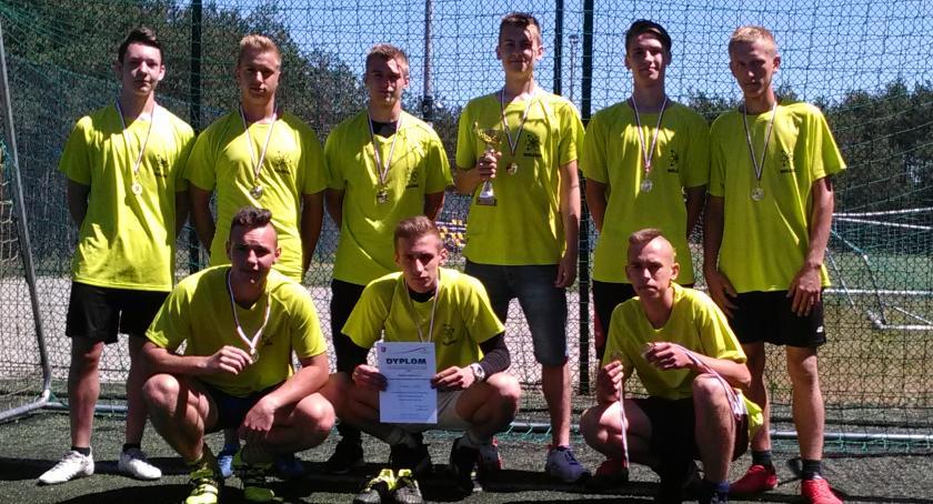 Piłka nożna, Zawody powiatowe Szkół Ponadpodstawowych Piłkę Nożną Chłopców - zdjęcie, fotografia