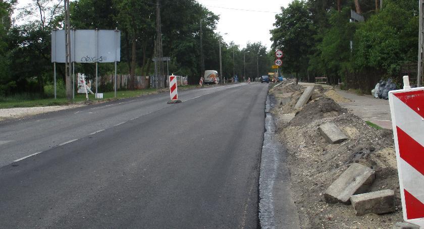 Inwestycje, Przebudowy DW721 Józefowie - zdjęcie, fotografia