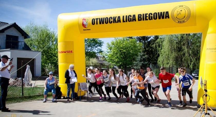 Bieganie, Finał Otwockiej Biegowej - zdjęcie, fotografia