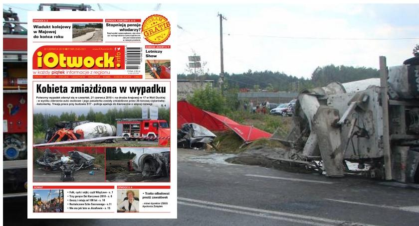 Publikacje, Tragedia numer tygodnika iOtwock - zdjęcie, fotografia