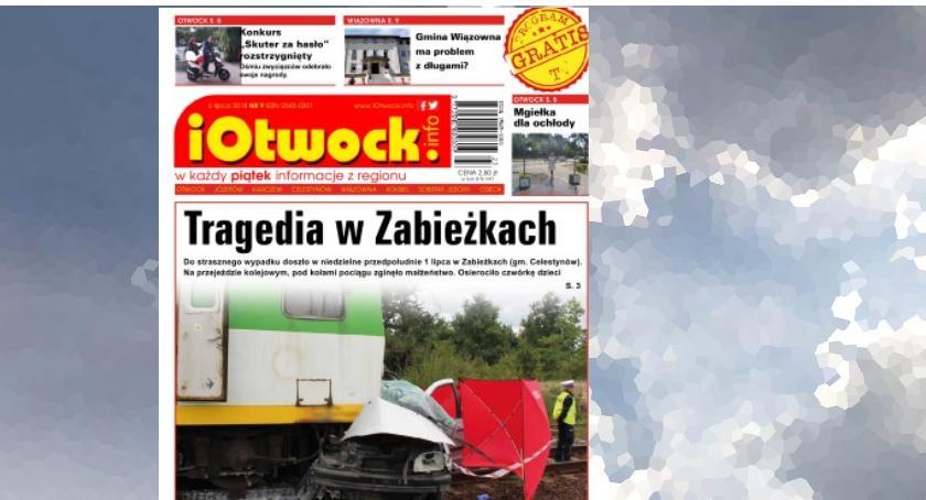 Publikacje, Dramat Zabieżkach skutery rękach zwycięzców tygodnik iOtwock sprzedaży - zdjęcie, fotografia