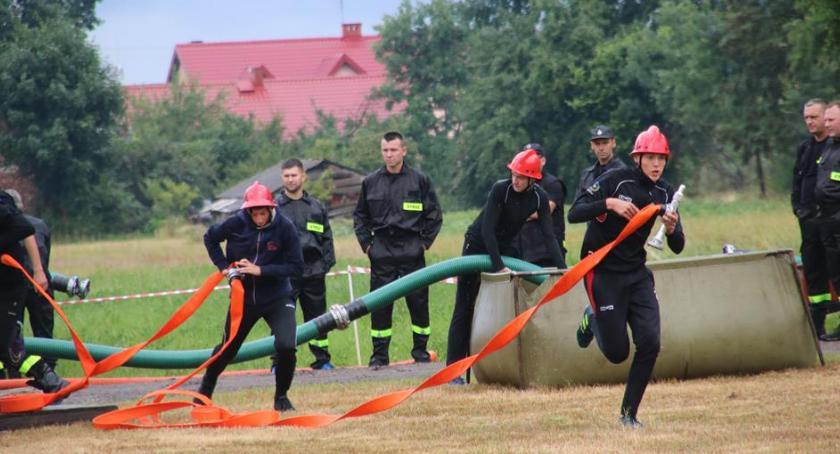 Stowarzyszenia - Fundacje - NGO, Zawody strażackie Lubicach - zdjęcie, fotografia