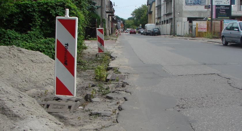 Komunikacja - drogi , Remont Świderskiej czyli dalej - zdjęcie, fotografia