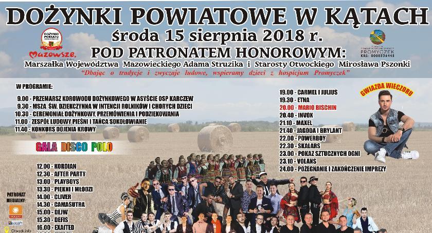 Imprezy, Dożynki Powiatu Otwockiego - zdjęcie, fotografia