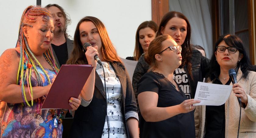 Imprezy, Spotkanie kulturą pałacu Rudno - zdjęcie, fotografia