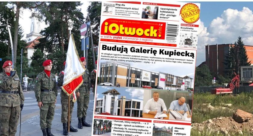 Publikacje, Ruszyła budowa Galerii Kupieckiej czytaj tygodnik iOtwock - zdjęcie, fotografia