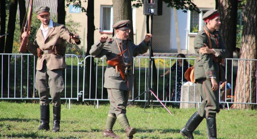 Historia, drodze niepodległości rekonstrukcja Celestynowie - zdjęcie, fotografia