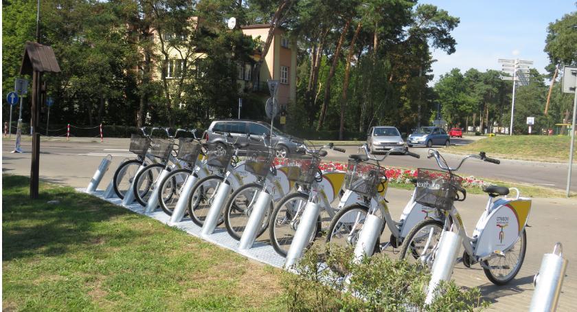 Inwestycje, Otwocki Rower Miejski wystartował - zdjęcie, fotografia