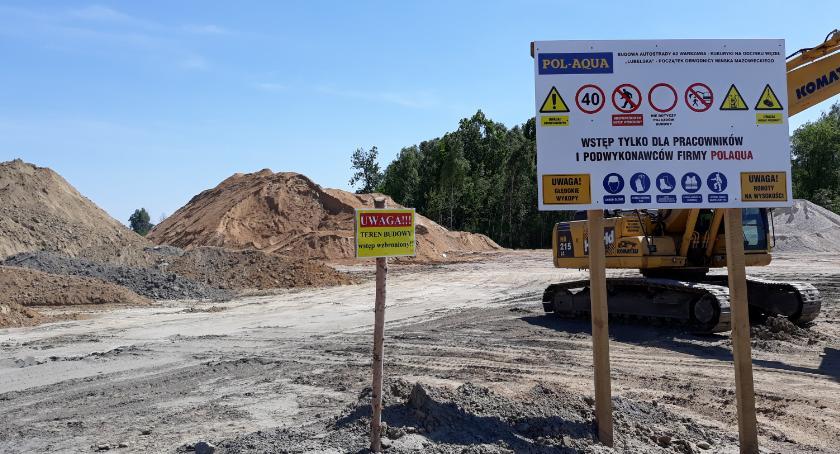 Inwestycje, Oficjalne rozpoczęcie budowy odcinka Majdanu wschód - zdjęcie, fotografia
