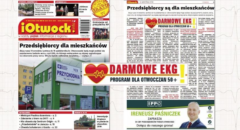 Publikacje, Darmowe akcja przedsiębiorców czytaj tygodnik iOtwock info - zdjęcie, fotografia