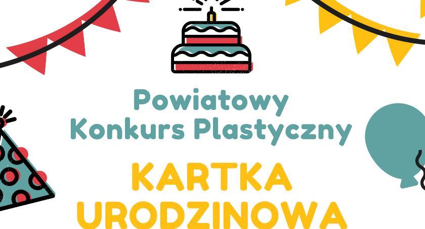Konkurs, Kartka urodzinowa - zdjęcie, fotografia